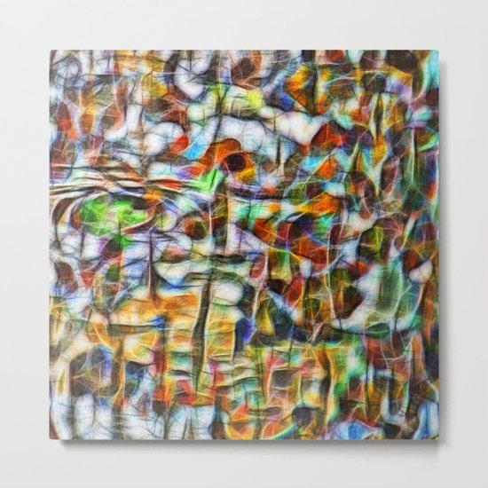 Beautiful abstract bark texture Metal Print