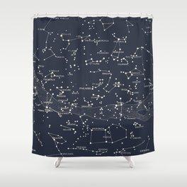 Carte du Ciel I Shower Curtain