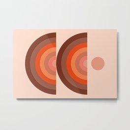 Abstraction_SUN_Rainbow_Minimalism_001 Metal Print