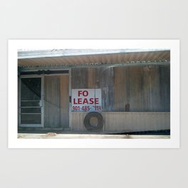 Prime Real Estate Art Print