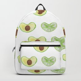 green hart´s from citron and avocado Backpack
