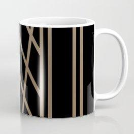 BLACK&GOLD 2 (abstract artdeco geometric) Coffee Mug