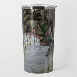 Southern moss and flowers Travel Mug