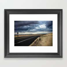 Road to Isolation Framed Art Print