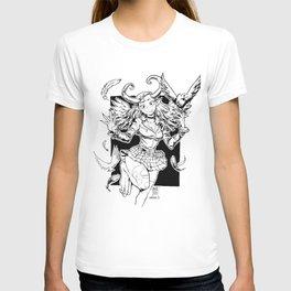 DEMON BIRD GIRL T-shirt