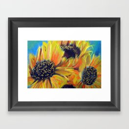 Rectory Series: Girasol #9 Framed Art Print