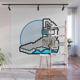 Run Or Fly Wall Mural