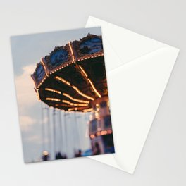 Art Deco Flying Chairs Stationery Cards