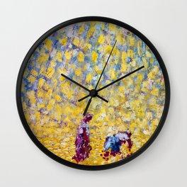 A Summer Rain (Les Lieuses) by Kees van Dongen Wall Clock