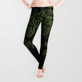 Marijuana of Pug Leggings