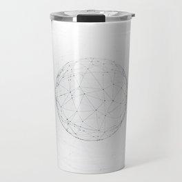 Minimal geometric circle II Travel Mug