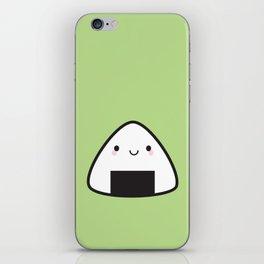 Kawaii Onigiri Rice Ball iPhone Skin