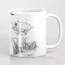 SIREN'S FURY Map (Siren's Fury) Coffee Mug