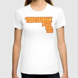 Shoot me in a dream T-shirt