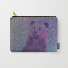 Bear Nebula (brown bear in the stars) Carry-All Pouch
