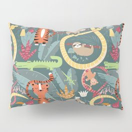 Rain forest animals 003 Pillow Sham