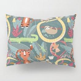 Rain forest animals 003 Pillow Sham