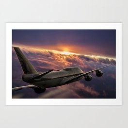 The Aircraft Art Print
