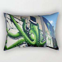 """""""Green Octopus"""" Rectangular Pillow"""