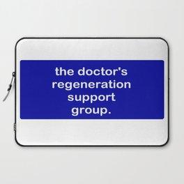 The Doctor's Regeneration Laptop Sleeve