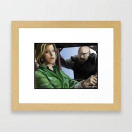Skyler Framed Art Print