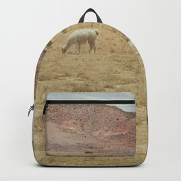 Lama Pampa bolivie Backpack
