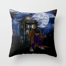 Werewolf 10th Doctor who Throw Pillow
