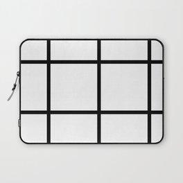 Big Grid Pattern Laptop Sleeve