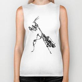 Violin Mantis Biker Tank