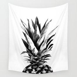 Pineapple Black & White Dream #1 #tropical #fruit #decor #art #society6 Wall Tapestry