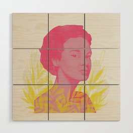 Side Eye Wood Wall Art