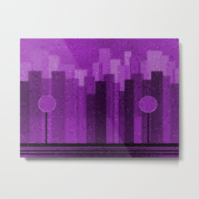 The Big City Metal Print