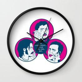 I Love You Ladie's Night Wall Clock