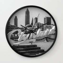 Cleveland, Ohio Wall Clock