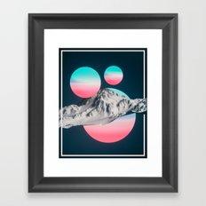 161214 / oddity Framed Art Print