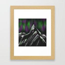 Stetind Framed Art Print
