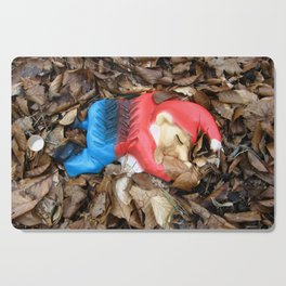 Death to the Garden Gnome Cutting Board
