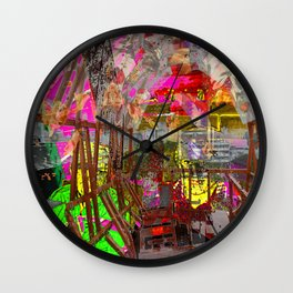 A Night At The Theater Wall Clock