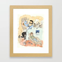 La fin du Monde, Oppa ! / The end of the World, Oppa ! Framed Art Print