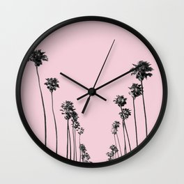 Palm trees 13 Wall Clock