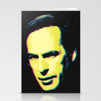 "better call saul Stationery Cards featuring Breaking Bad ""Better Call Saul"" by Steal This Art"