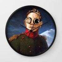 gore Wall Clocks featuring DM : A classic Martin Lee Gore by Luc Lambert