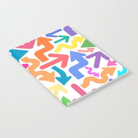 Arrow color Notebook