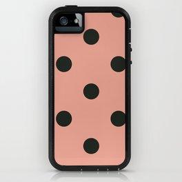 Polkas in sheer stocking  iPhone Case