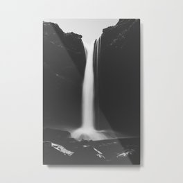 Hidden waterfall - Landscape and Nature Photography Metal Print