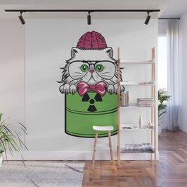 Green Hazard furniture Design by diegoramonart Wall Mural