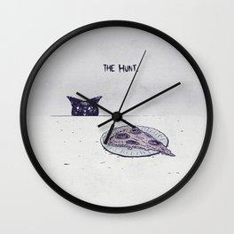 The Hunt Wall Clock