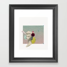 you can't connect the dots looking forward Framed Art Print