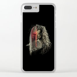 Evil Border Clear iPhone Case