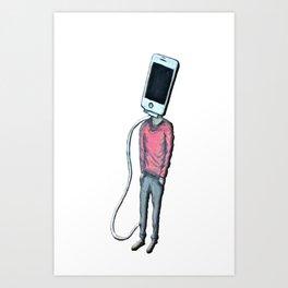 Head Phone Art Print